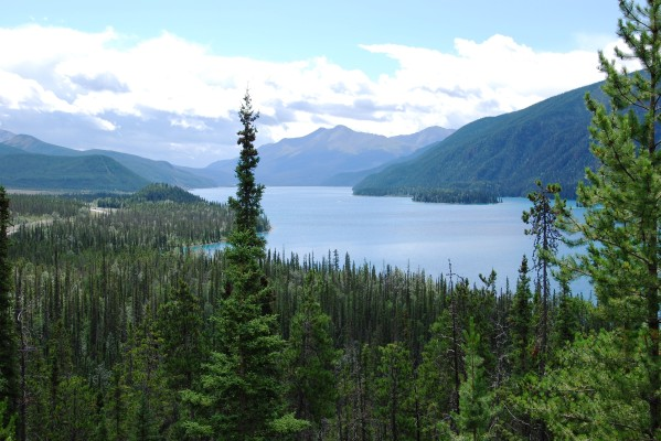 Muncho Lake.